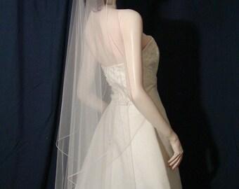 Wedding Veils bridal veils   Petal cut  Waltz length veil