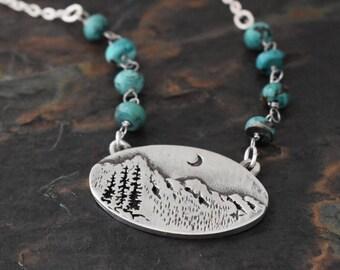 Colorado Rocky Mountain Necklace