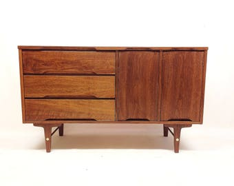 Vintage Mid Century Buffet In Wood