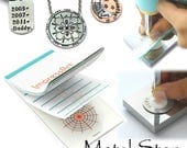 Metal Stamping Guide Stickers - Awesome Metal Stamping Tool for PERFECT stamping results EVERY time