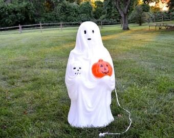 Vintage Empire Halloween Blow Mold / Ghost Blow Mold / Vintage Halloween