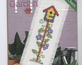 Birdhouse Bookmark Counted Cross-Stitch Kit
