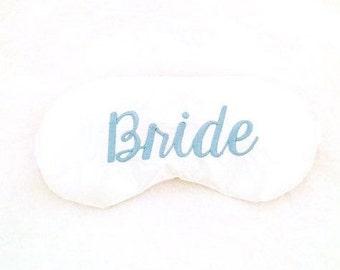 Bride sleeping mask