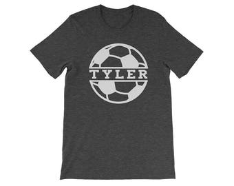 Personalized Soccer Mom Shirt, Soccer Dad Shirt, Soccer Mom Tee, Custom Soccer Mom Shirt, Soccer Shirt, Soccer T-Shirt, Soccer Dad T-shirt