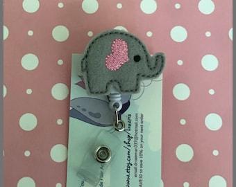 Elephant reel badge