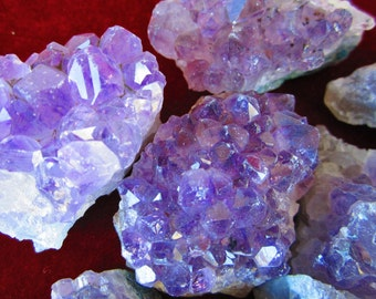 WHOLESALE AMETHYST GEODE Crystal Clusters * 1/2 to 50 lb Lot of 3-6 Oz Purple Amethyst Crystal Geodes from Brazil or Uruguay by GeoSpecimens