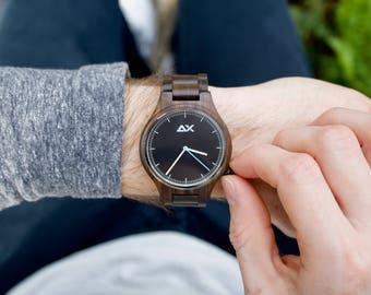 Wood Watch, Mens Wooden Watch, Wood Watch for men, Mens Watch, Wooden Watch, Groomsmen Gift, Anniversary Gift for Men, Wooden Watch Men