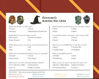 Invaluable image with harry potter trivia printable
