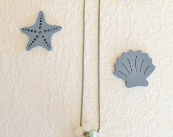 Pastel colored necklace