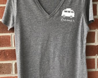 Women graphic t-shirt, Mom shirt, Inspirational shirt, triblend, woman shirt, gray tee, T-shirt with sayings, vintage shirt