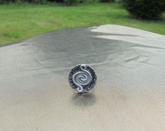 aluminum button wire ring: 1