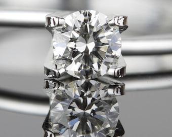 0.39 carat Loose Diamond - 4.73mm Round I1 I - Natural White Diamond - Purchase Loose or Customize