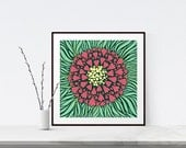 Floral Wall Art, Giclee P...