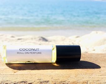 COCONUT || Roll on Perfume || Long lasting perfume || vegan perfume || Body Oil