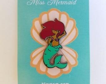 Miss Mermaid Enamel Pin