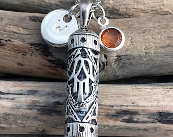 Mezuzah Necklace,Gift for her TAL010