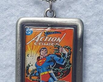 Super Man Pendant