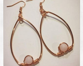 Rose Quartz and Copper
