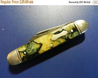 Summer Sale Vintage Colonial 2 Blade Pocket Knife