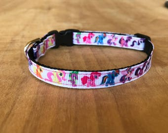 Little Pony Extra Small Dog Or Cat Collar