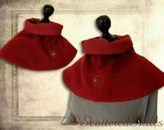 Collar made of pure wool, for LARP. Middle ages