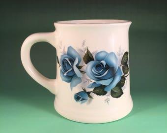 Blue Rose stein