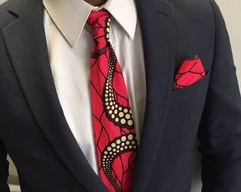Tie red WAX