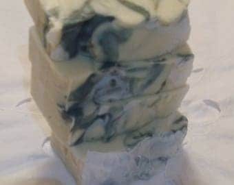 GOAT MILK LAVENDER soap all natural homemade