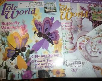 Tole World Magazine 1996 Issues