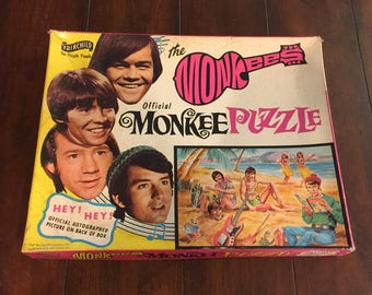 Monkees Jigsaw Puzzle by Fairchild