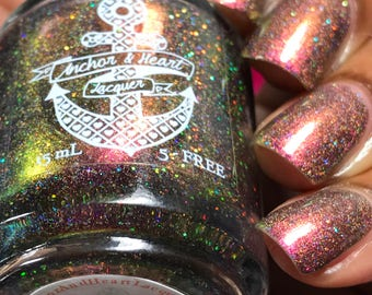 PREORDER ~ Rare Woman ~ Multichrome Holo Nail Polish