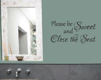 bathroom wall decal powder room vinyl wall decal bathroom quote funny bathroom
