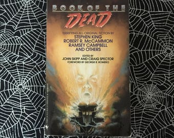 Book Of The Dead (Paperback Anthology Edited by John Skipp and Craig Spector)