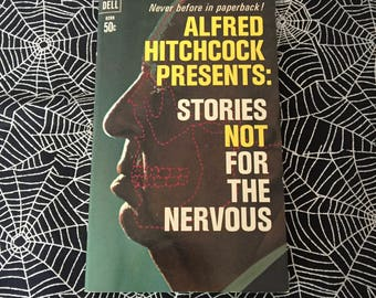 ALFRED HITCHCOCK PRESENTS: Stories Not For The Nervous (Paperback Anthology)