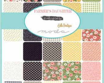 1 Yard Bundle Farmers Daughter by By Vanessa Goertzen of Lella Boutique for Moda- 32 Fabrics