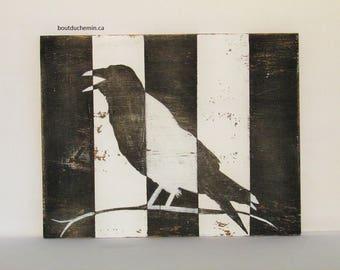 Jailed Crow original