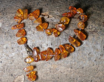 B7 - natural amber bracelet