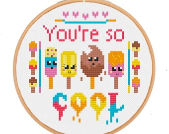 Cross Stitch Kit **You're so Cool**