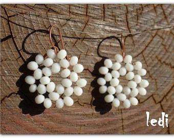 Garland earrings
