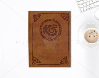 """DreamWorks How To Train Your Dragon """"Book of Dragons"""" - Lined or Blank Journal School Notebook 128 Sheets"""