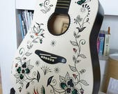 ON SALE Batik Guitar by Peter Donnelly