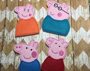 25% off store wide sale Finger Puppets - Peppa Pig