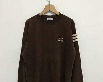 20% OFF Vintage Adidas Sweatshirt Adidas Sweater 90s Adidas Trefoil
