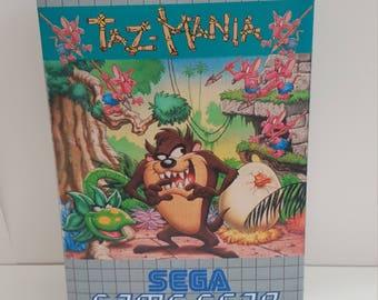 Sega Game Gear - Taz Mania - Repo Box NO GAME INCLUDED