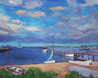 Came in for Coffee, Vineyard Haven Harbor, Martha's Vineyard