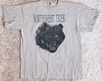90's Northwest Wolf Tee