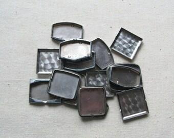 20% Off Sale 15 Assorted Watch Backs, Vintage Watch Parts, Steam Punk Supplies, Round Watch Back, Steel Watch Back, Steampunk Watch Back