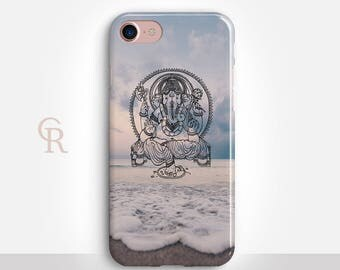 Ganesha iPhone 8 Case For- iPhone 8, 8 Plus, X, iPhone 7 Plus, 7, SE, 5, 6S Plus, 6S, 6 Plus, Samsung S8, S8 Plus, S7, S7 Edge