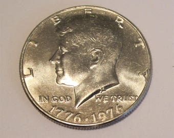 1976-P Clad Kennedy Half Dollar Uncirculated