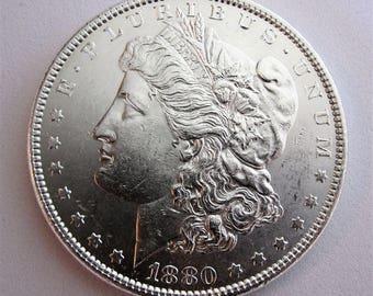 1880 Morgan Silver Dollar